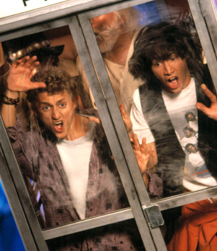 Bill and Ted in danger