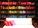 Color-coded Bookcase