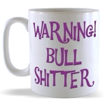 Bull shitter mug