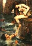 The Siren painting