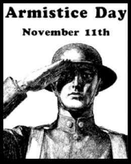 Topic des Fêtes et Jours Fériés Armistice-poster